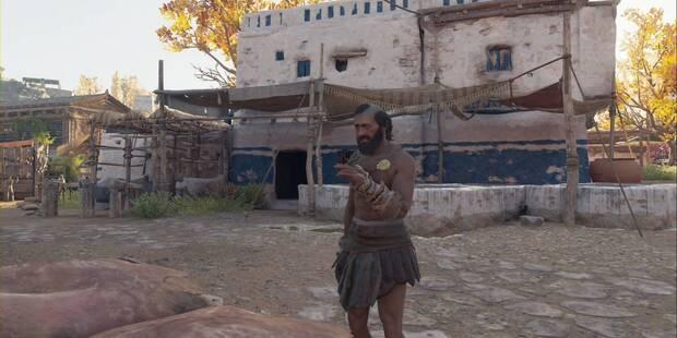 El sudario del oso en Assassin's Creed Odyssey - Misión secundaria