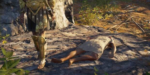La muerte nos llega a todos en Assassin's Creed Odyssey - Misión secundaria