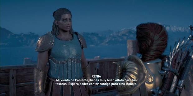 Lanza el dado en Assassin's Creed Odyssey - Misión secundaria