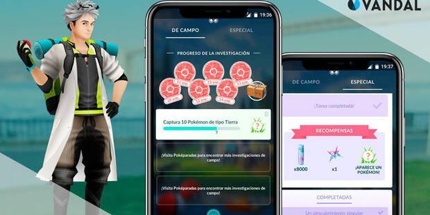 Pokémon Go: Recompensas de las investigaciones en noviembre 2019