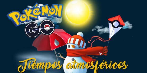 Pokémon Go: cómo afecta el clima del mundo real al juego