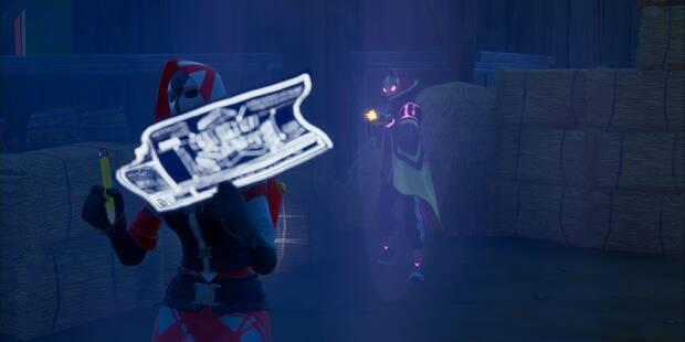 Desafío Fortnite: Inflige daño en un plazo de 10 segundos tras abandonar un escondite
