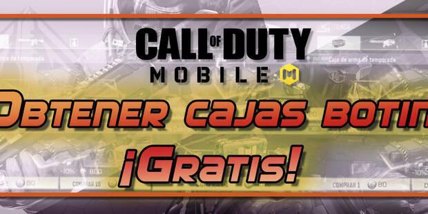 Call of Duty Mobile: cómo conseguir cajas de botín gratis