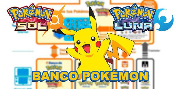Cómo funciona y cuánto cuesta el Banco Pokémon de Pokémon Sol y Luna