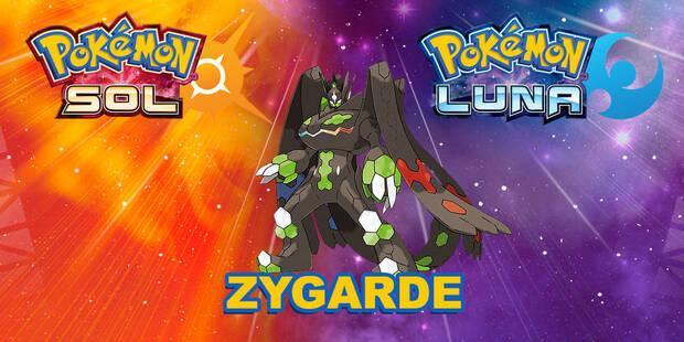 Cómo conseguir a Zygarde en Pokémon Sol y Luna