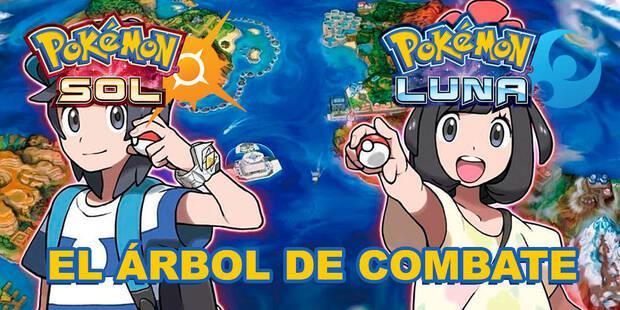 El Árbol de Combate de Pokémon Sol y Luna