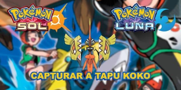 Tapu Koko, cómo y dónde capturarlo en Pokémon Sol y Luna