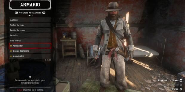 TODOS los atuendos de Red Dead Redemption 2 y dónde conseguirlos