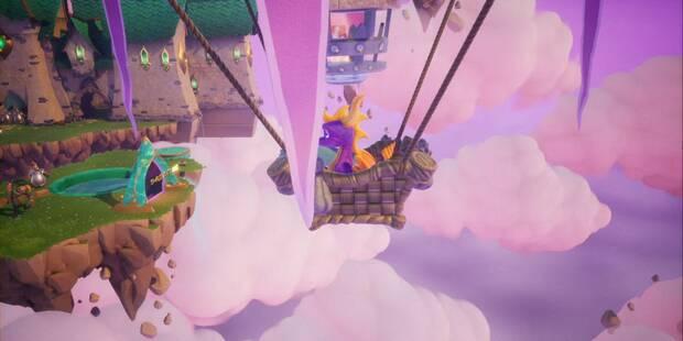 Tierra de los Creadores de Sueños en Spyro 1 - Estatuas de dragón, Reinos y secretos