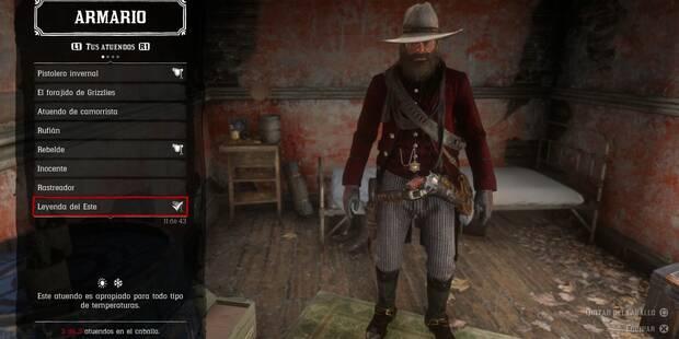 Red Dead Redemption 2: ¿Cómo conseguir el atuendo Leyenda del Este?