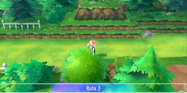Ruta 3 en Pokémon Let's Go - Pokémon y secretos