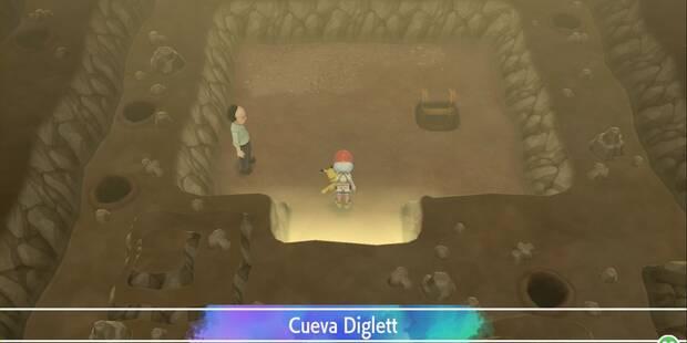 Cueva Diglett en Pokémon Let's Go - Pokémon y consejos