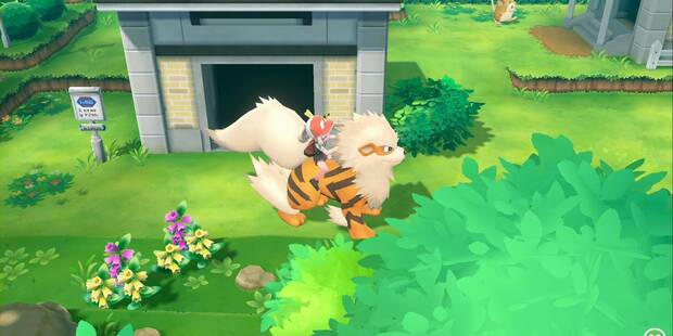 Ruta 7 en Pokémon Let's Go - Pokémon y secretos