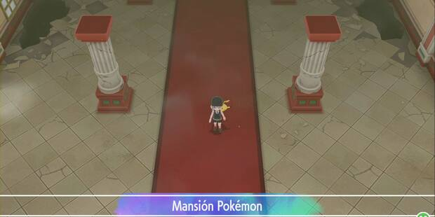 Mansión Pokémon en Pokémon Let's Go - Pokémon y consejos