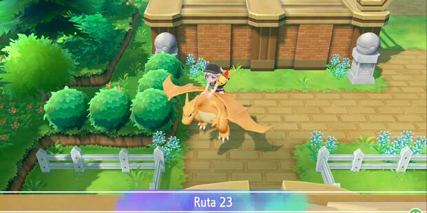 Ruta 23 en Pokémon Let's Go - Pokémon y secretos