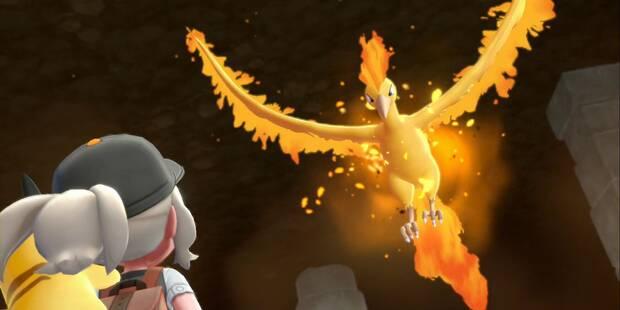 Moltres en Pokémon Let's Go: Cómo capturarlo y Localización
