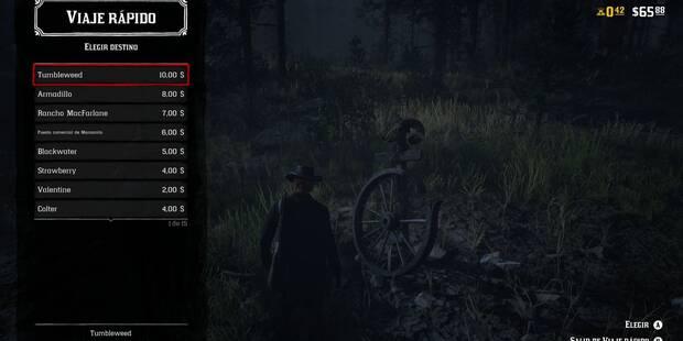 Cómo viajar rápido en Red Dead Online - Gratis o de pago