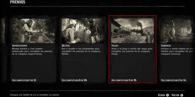 Premios y recompensas especiales en Red Dead Online - Objetivos