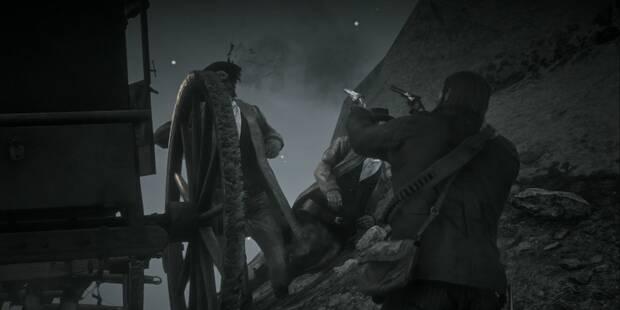 Emboscadas a diligencias en Red Dead Redemption 2