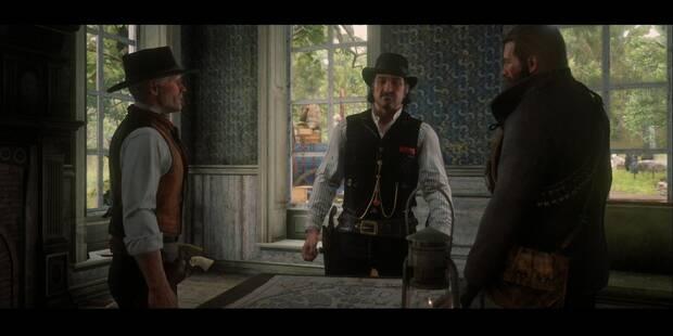 Los bancos: el viejo arte americano en Red Dead Redemption 2 - Misión principal