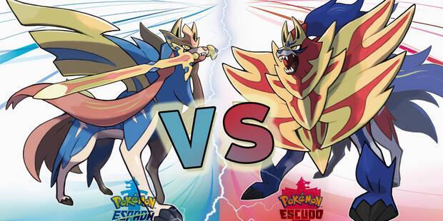 Pokémon exclusivos de Espada y Escudo y diferencias entre versiones