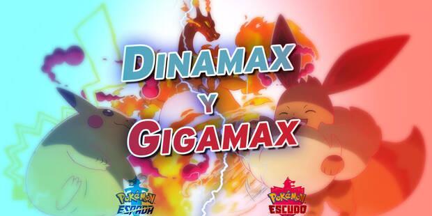 Todos los Pokémon Gigamax y Dinamax y cómo conseguirlos en Espada y Escudo