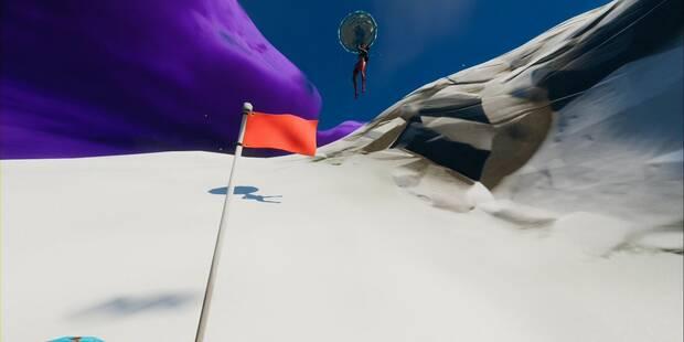 Desafío Fortnite: Encuentra el pico escondido en la pantalla de carga de Caos en ascenso mientras llevas el traje Sorana