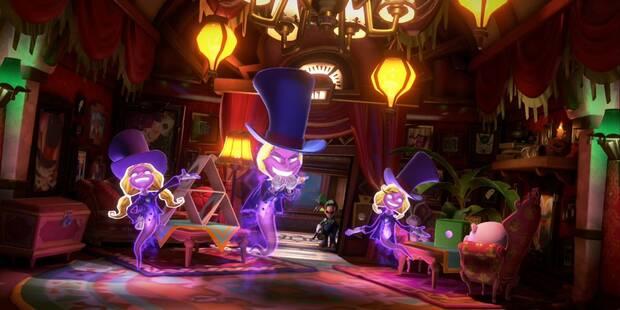 Suites mágicas en Luigi's Mansion 3 al  100% y coleccionables