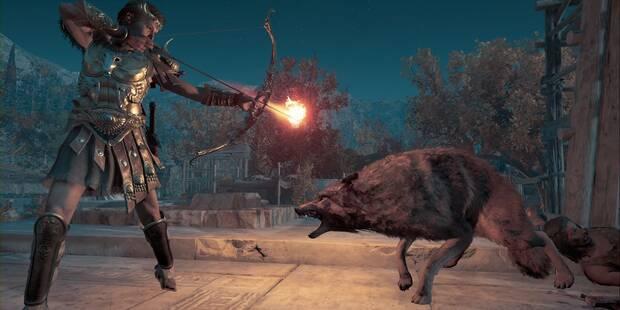 De ciudad de los lobos en Assassin's Creed Odyssey