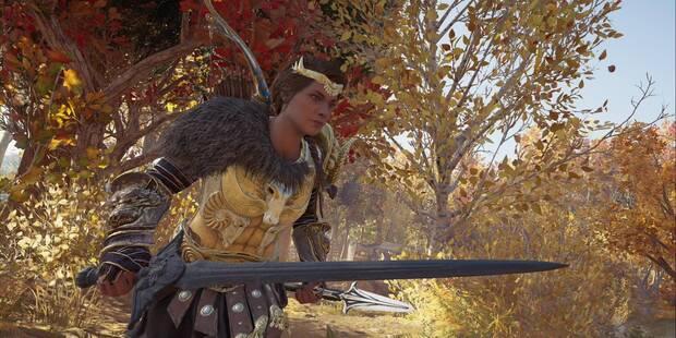 ¡Gracias, malaka! en Assassin's Creed Odyssey