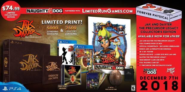 Jak and Daxter contará con una edición física limitada en PS4 Imagen 2