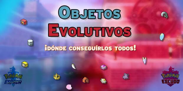 TODOS los objetos evolutivos en Espada y Escudo - Localización