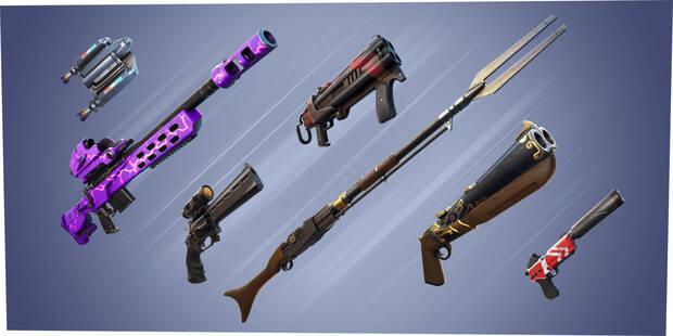 Fortnite - Temporada 5: Nuevas armas