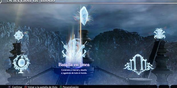Todos los Modos de juego de Dissidia Final Fantasy NT