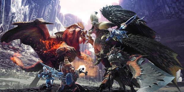 Buscando a los Dragones Ancianos - Monster Hunter World