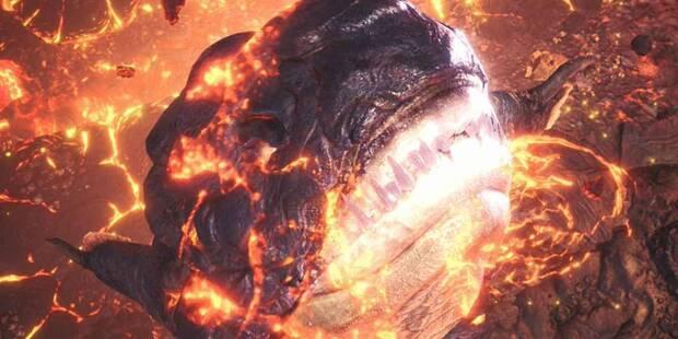 Lavasioth en Monster Hunter World - Localización, drops y consejos