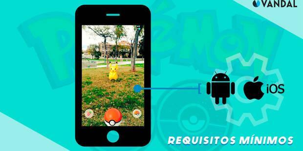 Requisitos mínimos Android y iPhone para Pokémon Go