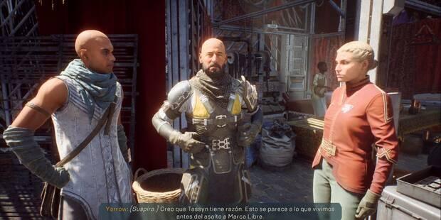Facciones en Anthem: misiones y cómo subir de nivel