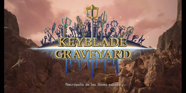 Kingdom Hearts 3 - Necrópolis de las llaves espada al 100% - Tesoros