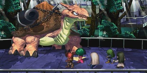 SaGa Frontier Remastered screenshot.