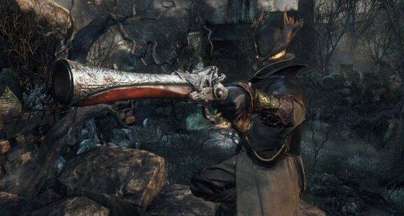 Pistola de cazador - Bloodborne