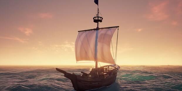 Tipos de barcos y tripulación en Sea of Thieves