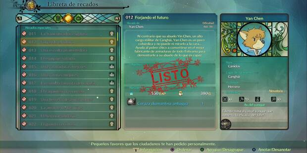 Recado Especial 012 - Forjando el futuro en Ni No Kuni 2: El renacer de un reino