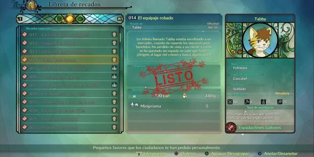 Recado Especial 014 - El equipaje robado en Ni No Kuni 2: El renacer de un reino