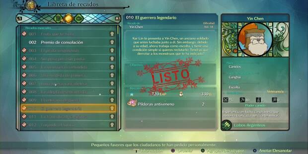 Recado Especial 010 - El guerrero legendario en Ni No Kuni 2: El renacer de un reino