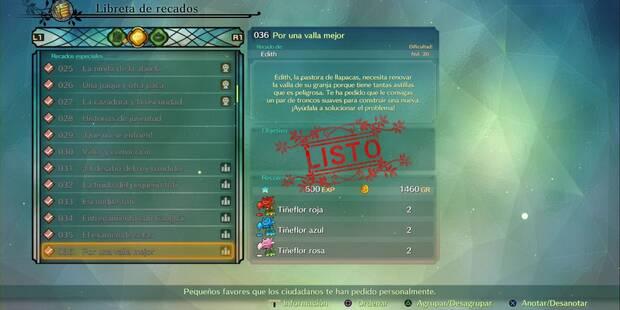 Recado Especial 036 - Por una valla mejor en Ni No Kuni 2: El renacer de un reino
