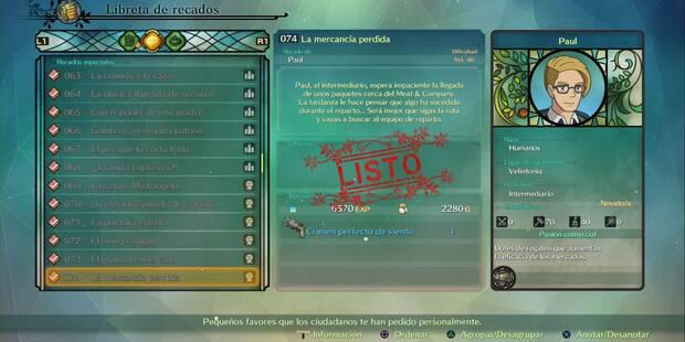 Recado Especial 074 - La mercancía perdida en Ni No Kuni 2: El renacer de un reino