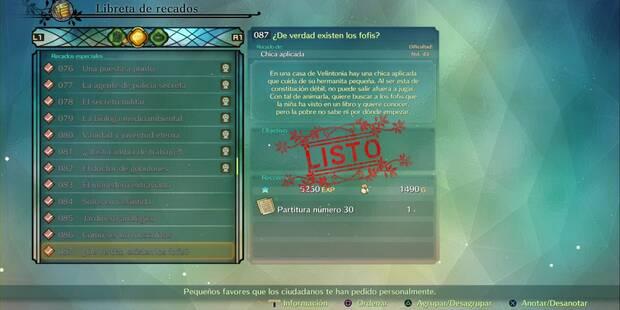 Recado Especial 087 - ¿De verdad existen los fofis? en Ni No Kuni 2: El renacer de un reino