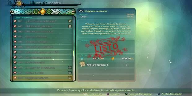 Recado Especial 092 - El gigante mecánico en Ni No Kuni 2: El renacer de un reino