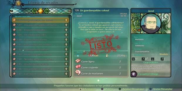 Recado Especial 126 - Un guardaespaldas colosal en Ni No Kuni 2: El renacer de un reino